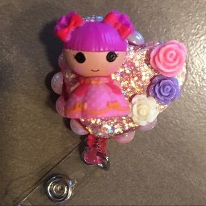 Lalaloopsy Tinies badge Reel for key card